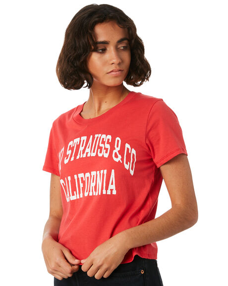 GOOD VARSITY RED WOMENS CLOTHING LEVI'S TEES - 29674-0011GVRED