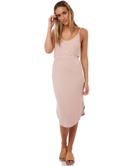 PALE MAUVE WOMENS CLOTHING BILLABONG DRESSES - 6572490MAU