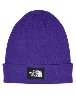 HERO PURPLE BLACK MENS ACCESSORIES THE NORTH FACE HEADWEAR - NF0A3FNTV0G
