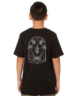 BLACK KIDS BOYS BILLABONG TOPS - 8582022BLK