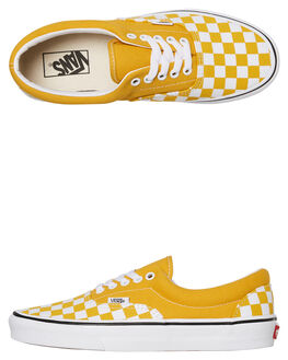 YOLK YELLOW WOMENS FOOTWEAR VANS SNEAKERS - SSVNA38FRVLYYYLWW