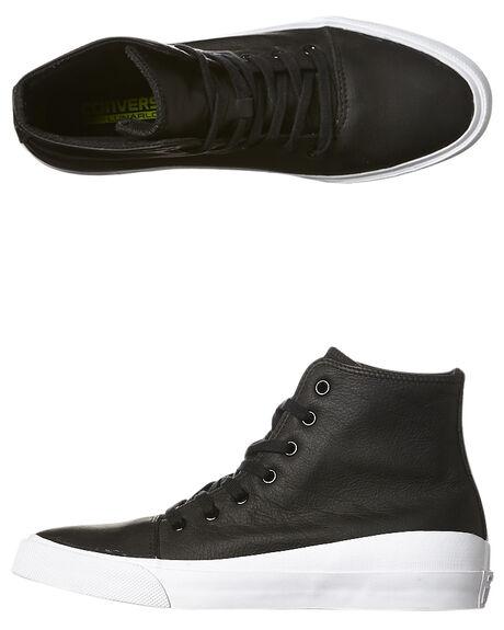f7eff9de0fd0 Converse All Star Quantum Hi Lunarlon Leather Shoe - Black White ...