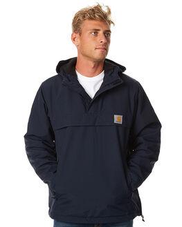 NAVY MENS CLOTHING CARHARTT JUMPERS - I021872NVY