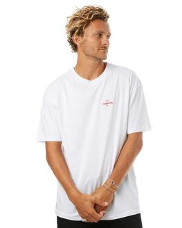 WHITE MENS CLOTHING RPM TEES - 7HMT02BWHT