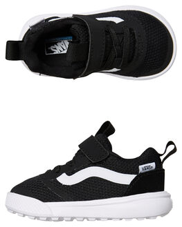BLACK KIDS BOYS VANS FOOTWEAR - VNA3WLM6BTBLK