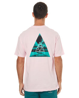 PINK MENS CLOTHING HUF TEES - TS00145PNK