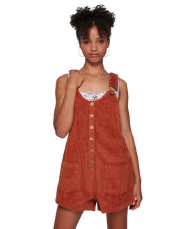 BRONZE AMBER WOMENS CLOTHING BILLABONG PLAYSUITS + OVERALLS - BB-6591536M-BZA