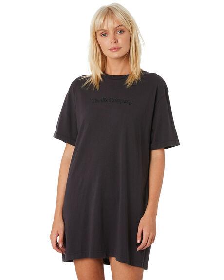 HERITAGE BLACK WOMENS CLOTHING THRILLS DRESSES - WTH9-909HBBLACK