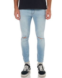 RIOT BLEACH MENS CLOTHING A.BRAND JEANS - 810683310