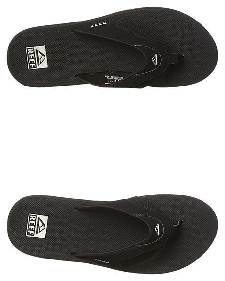 BLACK SILVER MENS FOOTWEAR REEF THONGS - 2026BLS