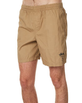 TANNIN MENS CLOTHING STUSSY BOARDSHORTS - ST071606TAN