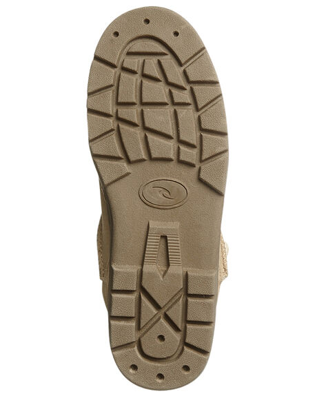 TAN WOMENS FOOTWEAR RIP CURL UGG BOOTS - TGCAK11046