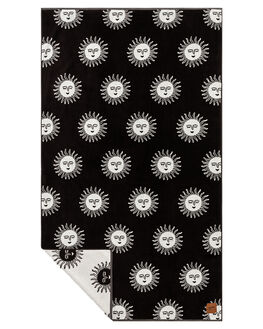 BLACK MENS ACCESSORIES SLOWTIDE TOWELS - ST308BLK