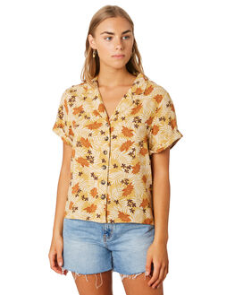 BOWIE LEAF WOMENS CLOTHING SWELL FASHION TOPS - S8202015BLEAF