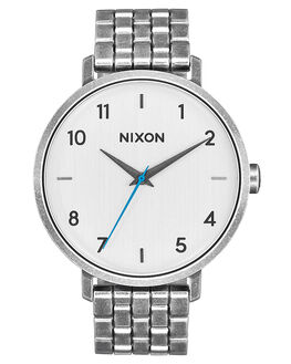 SILVER ANTIQUE MENS ACCESSORIES NIXON WATCHES - A10902701