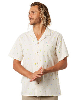 FLOWER BUDS MENS CLOTHING MOLLUSK SHIRTS - MS1912FLWBD