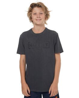 BLACK KIDS BOYS HURLEY TEES - ABTSBXPD00AP