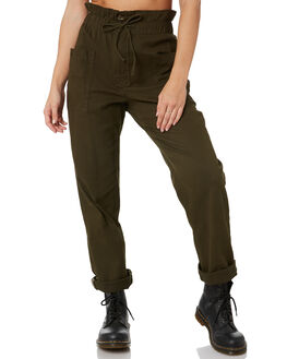 DARK OLIVE WOMENS CLOTHING RUSTY PANTS - PAL1175DAO