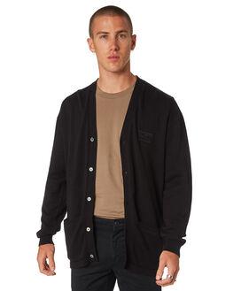 BLACK MENS CLOTHING SWELL KNITS + CARDIGANS - S5193146BLACK