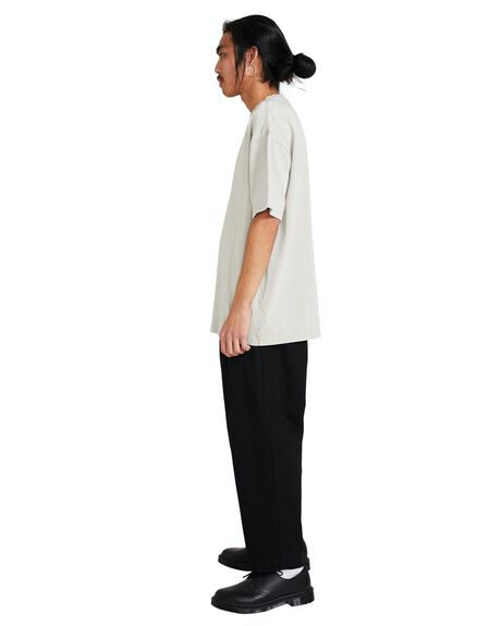 NATURAL MENS CLOTHING BLACK NOISE WHITE RAIN TEES - 35963900022