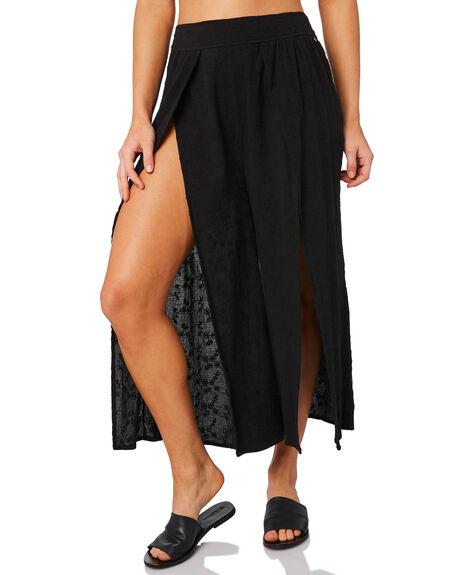 BLACK WOMENS CLOTHING RUSTY PANTS - SCL0300BLK