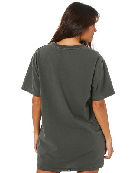 MERCH BLACK WOMENS CLOTHING THRILLS DRESSES - WTH20-905BMMBLK