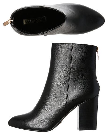 BLACK WOMENS FOOTWEAR BILLINI BOOTS - B875BLK