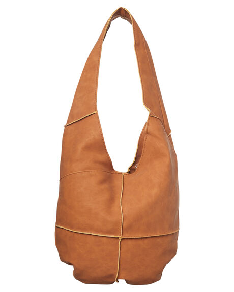TAN WOMENS ACCESSORIES BILLABONG HANDBAGS - 6672126ATAN