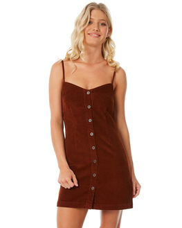 RUST WOMENS CLOTHING RVCA DRESSES - R281764R24