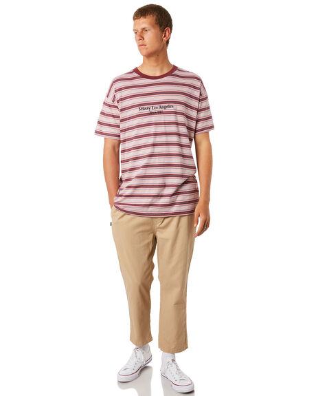 TAN MENS CLOTHING STUSSY PANTS - ST095604TAN