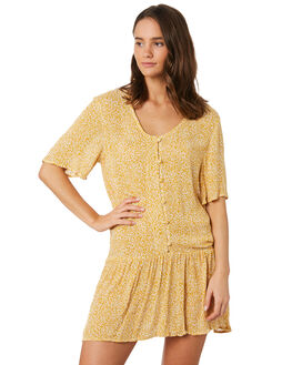 APRICOT WOMENS CLOTHING O'NEILL DRESSES - 5421610APT