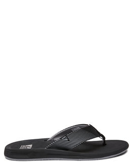 BLACK MENS FOOTWEAR REEF THONGS - A3YMHBLA