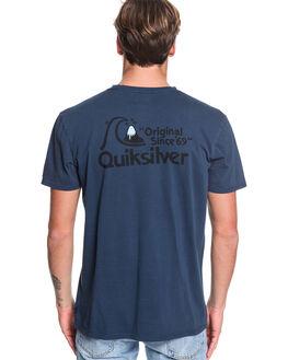 MOONLIT OCEAN MENS CLOTHING QUIKSILVER TEES - EQYZT05433-BYK0