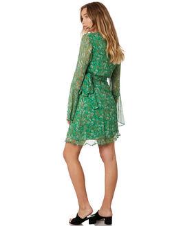MOSS FLORAL OUTLET WOMENS STEVIE MAY DRESSES - SL190501DMFLOR
