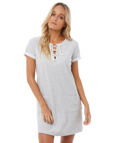 MARSHMALLOW WOMENS CLOTHING ROXY DRESSES - ERJKD03169WBT0