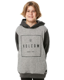 GREY KIDS BOYS VOLCOM JUMPERS - C4111806GRY