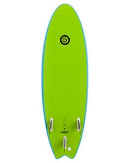 BLUE LIME SURF SOFTBOARDS GNARALOO GSI BEGINNER - GN-FLOPO-BLLM