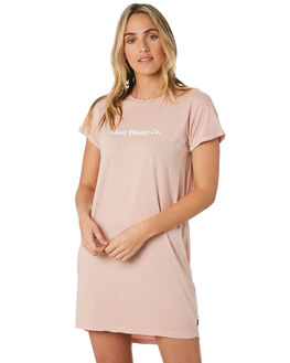 PINK WOMENS CLOTHING SILENT THEORY DRESSES - 6053020PNK