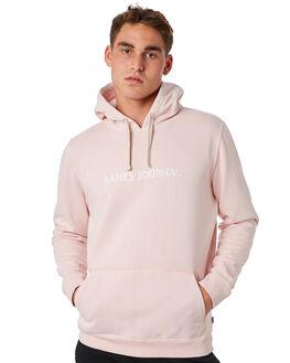 ROSE SMOKE MENS CLOTHING BANKS JUMPERS - WFL0156RSM