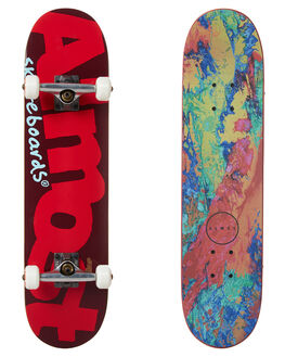 RED BOARDSPORTS SKATE ALMOST COMPLETES - 10523191YRED