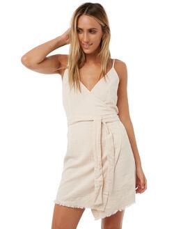 DUSTY BLUSH WOMENS CLOTHING BILLABONG DRESSES - 6585486PNK