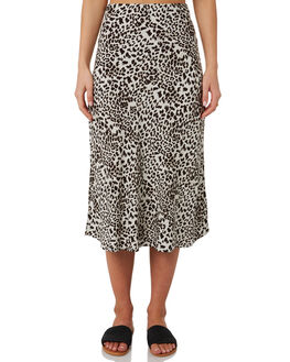 GROWL LEOPARD WOMENS CLOTHING THE HIDDEN WAY SKIRTS - H8203471GRWLP