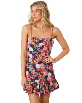 FULL BLOOM FLORAL WOMENS CLOTHING MLM LABEL DRESSES - MLM609BFLR