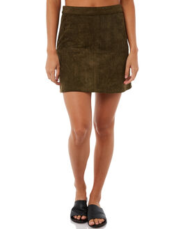 OLIVE OUTLET WOMENS RHYTHM SKIRTS - SKT00W-SK01OLI