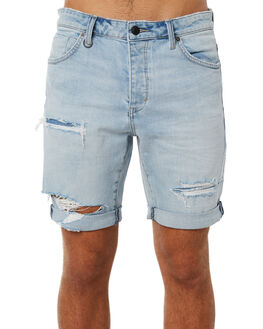 AXIS TRASHED MENS CLOTHING NEUW SHORTS - 32945B3912