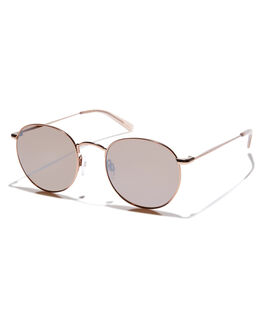 SILVER FLESH UNISEX ADULTS RAEN SUNGLASSES - BEN-0143BRNSLV