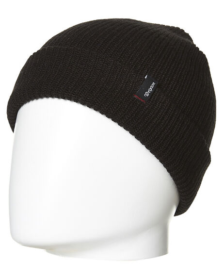 BLACK MENS ACCESSORIES BRIXTON HEADWEAR - 110-00008-0100BLK