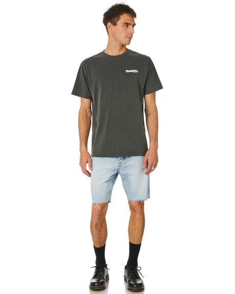 TIME WORN BLUE MENS CLOTHING THRILLS SHORTS - TDP-314ETWTMWBL