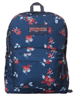 NAVY SWEET BLOSSUM WOMENS ACCESSORIES JANSPORT BAGS - JST501JS0VQNVBLSM