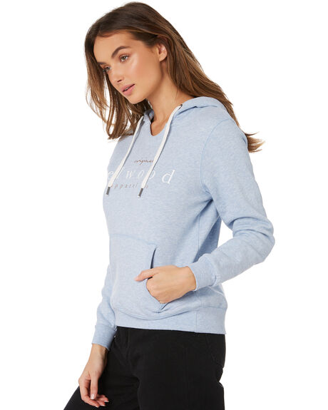CHAMBRAY MARLE WOMENS CLOTHING ELWOOD JUMPERS - W91207CHAM